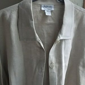 Style & Co. Linen Top